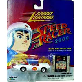 Miniatura do Mach 5 (Speed Racer série 2000) Johnny Lightning escala 1/64