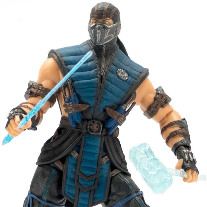Miniatura do Mortal Kombat X - Subzero marca Mezco Toyz Action Figures