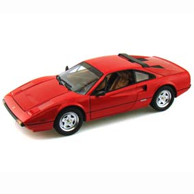 Miniatura Ferrari 308 GTB W1775 Hot Wheels do Brasil :: Miniaturas Ferrari escala 1/18