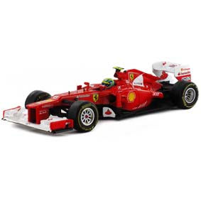 Miniatura Ferrari F1 (2012) F2012 Felipe Massa : Hot Wheels escala 1/43