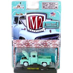 Miniatura Ford F-100 Pickup Truck (1956) R15 31500 M2 Machines escala 1/64