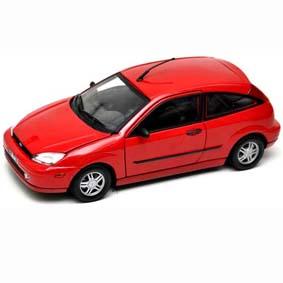 Miniatura Ford Focus ZX3 (2002) Miniaturas Motormax Brasil escala 1/18