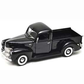 Miniatura Ford Pickup Truck (1940) Miniaturas da Motormax Brasil escala 1/18