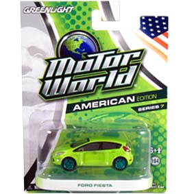 Miniatura Green Machine Fiesta 2011 Greenlight Motor World série 7 R7 96070
