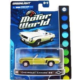 Miniatura Greenlight 1/64 Camaro Convertible SS (1969) Motor World R4 96040