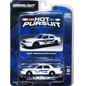 Miniatura Greenlight Hot Pursuit Ford Crown V. Indiana Police (2008) R4 42610