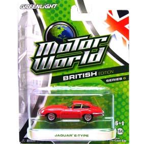 Miniatura Greenlight Motor World Collectibles série 6 Jaguar E-Type R6 96060