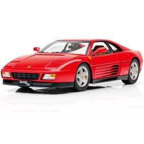 Miniatura Hot Wheels Elite escala 1/18 :: Ferrari 348 tb (1989) Limited Edition 1 of 5000