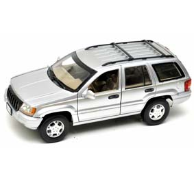 Miniatura Jeep Grand Cherokee (2001) Miniaturas Motor Max escala 1/18