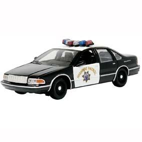 Miniatura Motor Max Chevy Caprice California Highway Patrol (1993) CHIPS Police