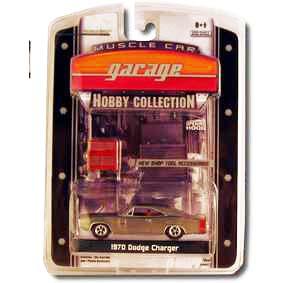 Miniatura na escala 1/64 Greenlight Diecast Dodge Charger (1970) E2 28620