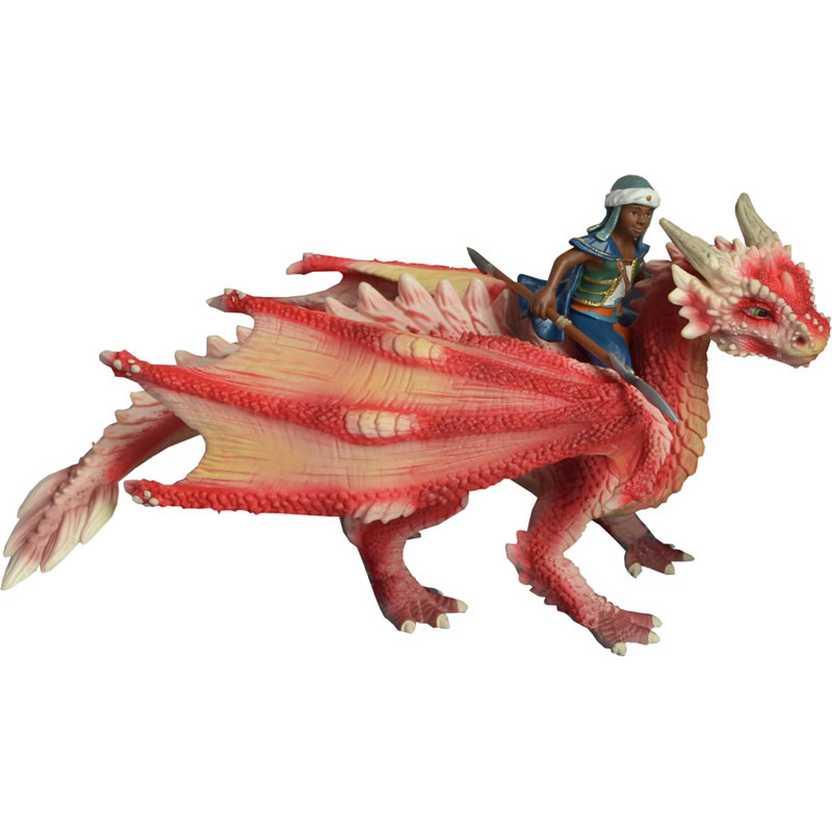 Miniatura Schleich Jovem Cavaleiro do Dragão - 70465 Young Dragon Rider Figure