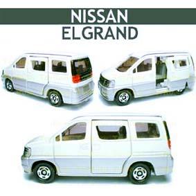 Miniatura Tomy / Takara escala 1/64 Nissan Elgrand Van número 89