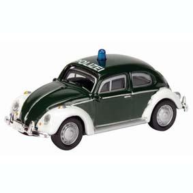 Miniatura VW Fusca Polizei Alemanha - Police Carros da Polícia