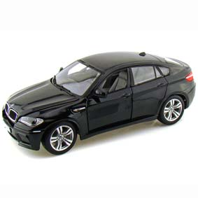 Miniaturas Bburago Brasil :: BMW X6M (2011) carrinho Burago escala 1/18