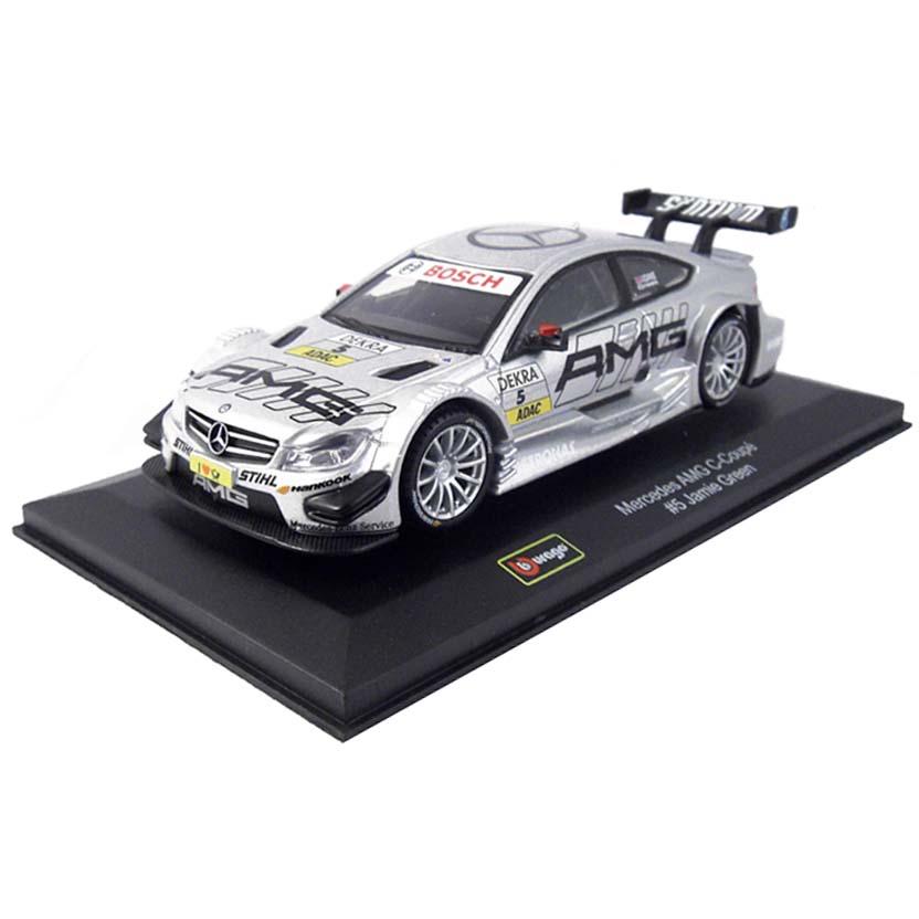 Miniaturas Bburago escala 1/32 : Mercedes AMG C-Coupé #5 Jamie Green