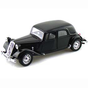 Miniaturas Burago Brasil Citroën 15 CV TA (1938) escala 1/24