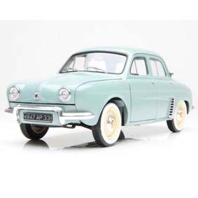 Miniaturas Carros Nacionais Renault Dauphine (1958) similar Gordini Nacional