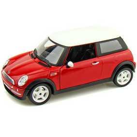 Miniaturas da Burago escala 1/24 :: Mini Cooper da Bburago Brasil