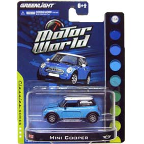 Miniaturas da Greenlight 1/64 Mini Cooper Motor World R4 96040