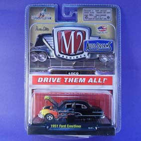 Miniaturas da M2 Machines 1/64 Auto Dreams Ford Crestliner (1951) 31500 R12