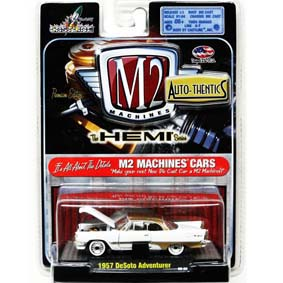 Miniaturas da M2 Machines Carrinhos 1/64 DeSoto Adventurer (1957) 31500 R09