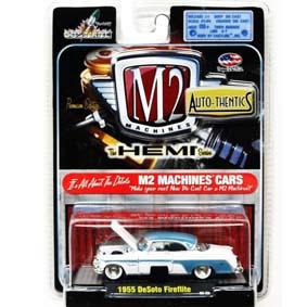 Miniaturas da M2 Machines Carros de metal 1/64 DeSoto Fireflite (1955) 31500 R09