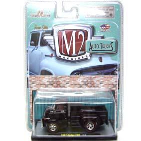 Miniaturas da M2 Machines escala 1/64 Dodge COE Truck (1957) Auto-Thentics R17 31500