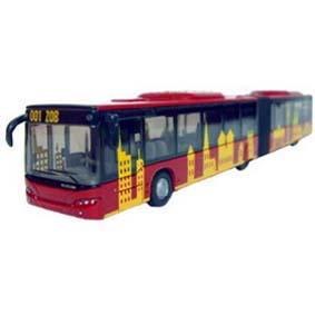 Miniaturas de ônibus escala 1/87 HO - Miniatura de ônibus articulado Siku 1893