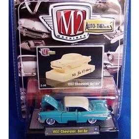 Miniaturas de Carrinhos Antigos Chevrolet Bel Air (1957) série 3B R03B 31500