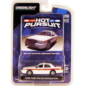 Miniaturas de Carros 1/64 Ford Crown V. South Dakota Police (2008) R6 42630