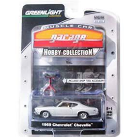 Miniaturas de Carros 1/64 Greenlight Collectibles Chevy Chevelle (1969) R4 28640