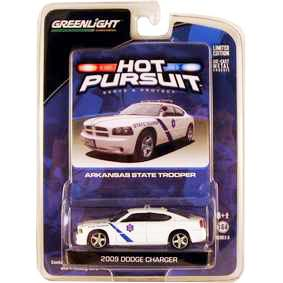 Miniaturas de Carros da Greenlight Dodge Charger Arkansas Police (2009) R6 42630