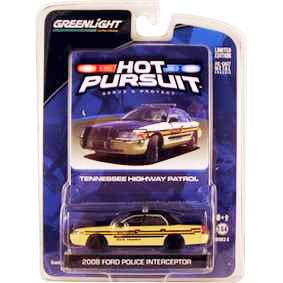 Miniaturas de Carros Greenlight Ford Crown V. Tennessee Police (2008) R6 42630