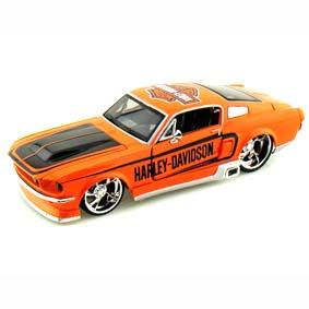Miniaturas de Carros Maisto escala 1/24 :: Ford Mustang GT Harley Davidson (1967)