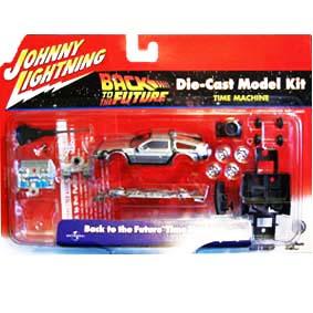 Miniaturas de carros para montar DeLorean Back To The Future Johnny Lightning