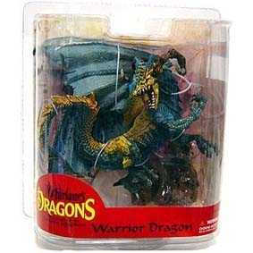 Miniaturas de Dragões Mcfarlane Toys Brasil - Dragons Series 7 Warrior Dragon