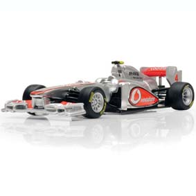 Miniaturas de F1 McLaren MP4/26 (2011) #4 Jenson Button Bburago escala 1/32