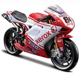 Miniaturas de Motos Maisto :: Ducati Desmosedici Michel Fabrizio (2010) Superbike 1/18