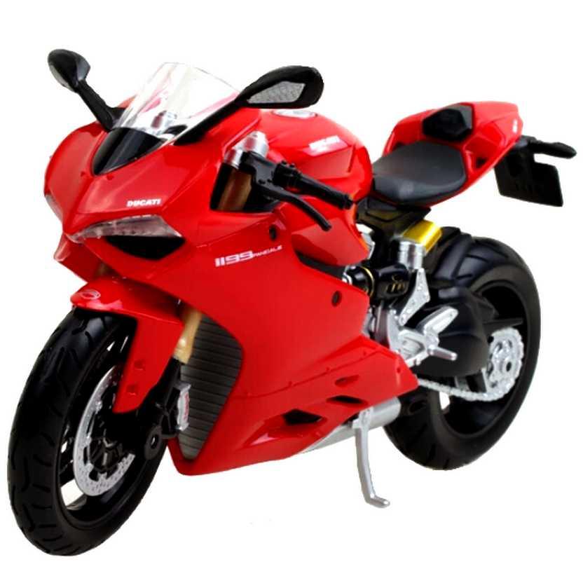 Miniaturas de motos Maisto escala 1/12 Ducati 1199 Panigale