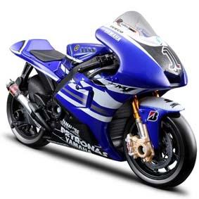 Miniaturas de Motos Maisto MotoGP 2011 :: Yamaha YZR-M1 Jorge Lorenzo No 1 1/18