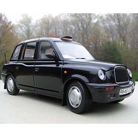 Miniaturas de Taxi TX1 de Londres (1988) SunStar 1/18 London Taxi Cab