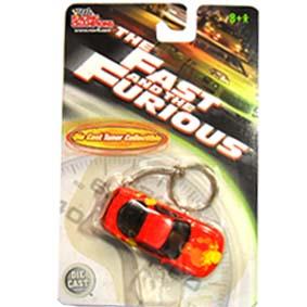 Miniaturas ERTL Chaveiro The Fast and The Furious Mazda RX-7 (1994) escala 1/64