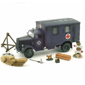 Miniaturas Forces of Valor German 4x4 Ambulance (1940) Miniaturas 1/32 Unimax