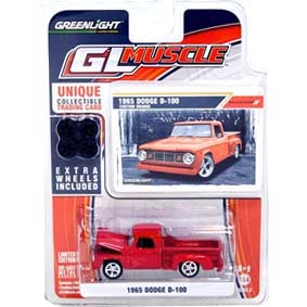 Miniaturas Greenlight Collectibles GL Muscle série 3 R3 13030 Dodge D-100 (1965)