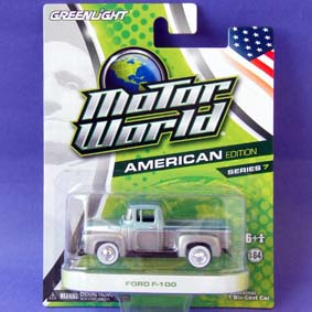 Miniaturas Greenlight Motor World series 7 Pickup Ford F-100 (1956) R7 96070