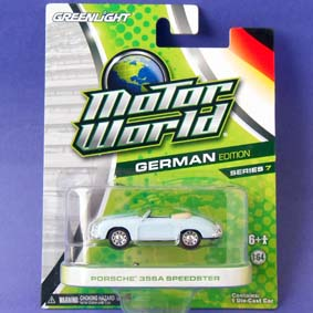 Miniaturas Greenlight Motor World series 7 Porsche 356A Speedster R7 96070