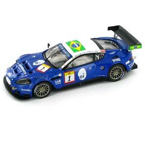 Miniaturas Ixo Aston Martin DBR9 Mil Milhas (2006) Nelson Piquet / Hélio Castroneves