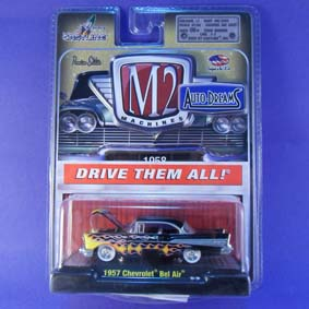Miniaturas M2 Machines Auto Dreams 1/64 Chevrolet Bel Air (1957) 31500 R12
