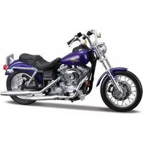 Miniaturas Maisto Motos Harley Davidson Softail Dyna Low Rider FXDL S-28 (2000)